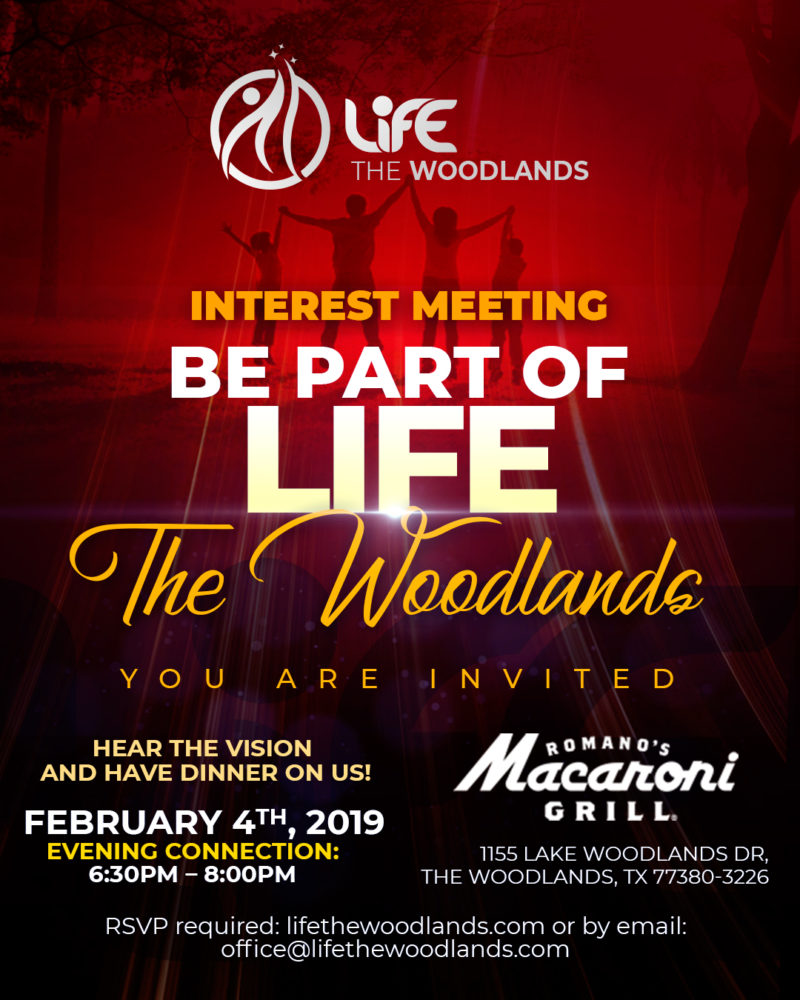 Interest Meetings @ Macaroni Grill – Know more about us and enjoy Dinner