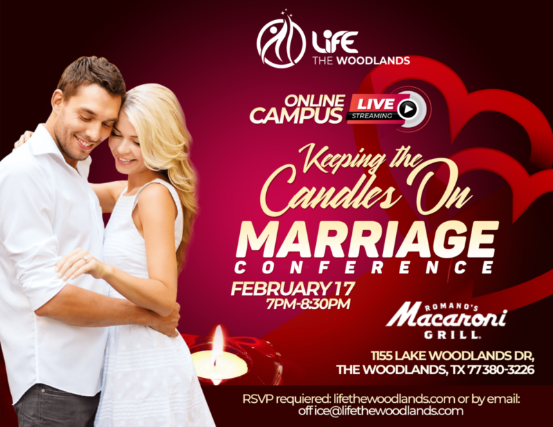 Online Campus LIVE – Keeping the Candles On, Marriage Conference